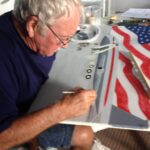 Image of Ron Vore painting